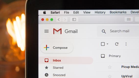 gmail client screenshot